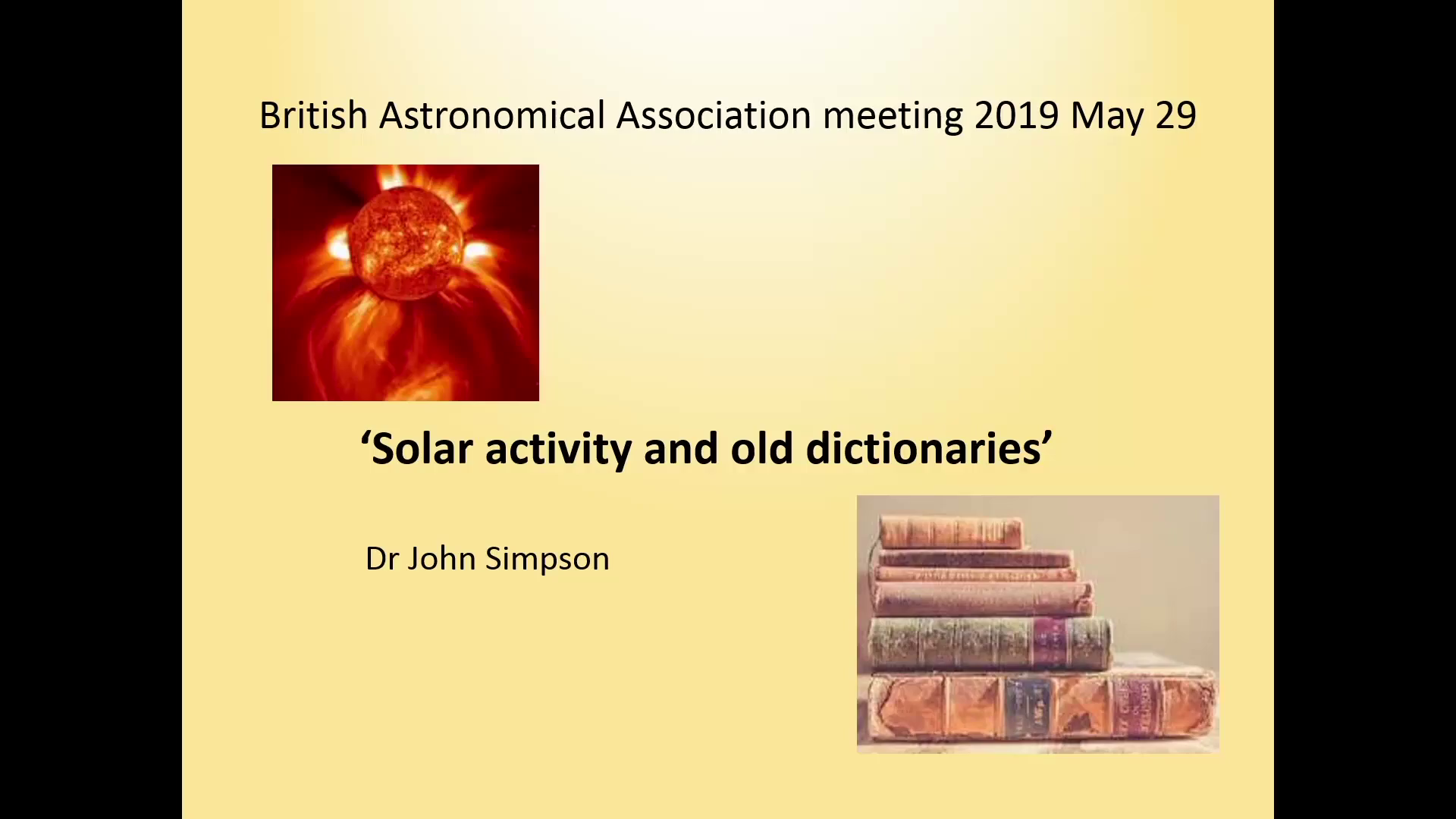 Amber Simpson Videos british astronomical association   supporting amateur